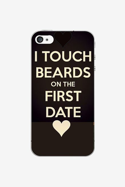 Ziddi BEARDQUOT Hard Back Cover for iPhone 4 (Multi)