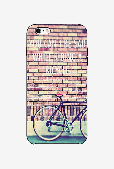 Ziddi BICYCLE Hard Back Cover for iPhone 6 (Multi)