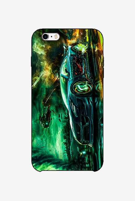 Ziddi CARWAR Hard Back Cover for iPhone 6 (Multi)