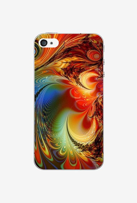 Ziddi CLRDESGN Hard Back Cover for iPhone 4S (Multi)