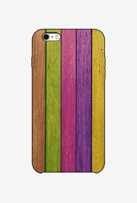 Ziddi CLRSTRIP Hard Back Cover for iPhone 6 (Multi)