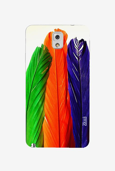 Ziddi COLORFEATHER Hard Back Cover for Galaxy Note 3 (Multi)