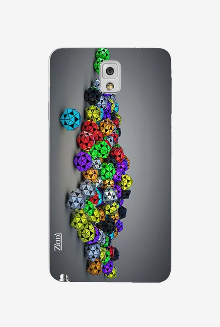 Ziddi COLORFULLBALLS Back Cover for Galaxy Note 3 (Multi)
