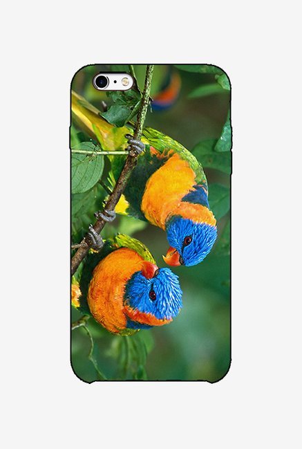 Ziddi CLRPRROT Hard Back Cover for iPhone 6S (Multi)