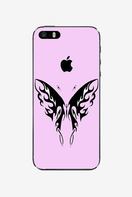 Ziddi BTRFLYPIN Hard Back Cover for iPhone 5S (Pink)