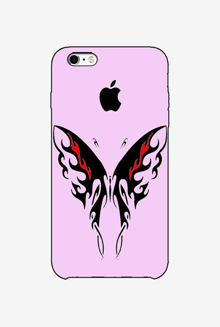 Ziddi BTRFLYPIN Hard Back Cover for iPhone 6 (Pink)