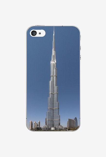 Ziddi BURZKHALIF Hard Back Cover for iPhone 4 (Multi)
