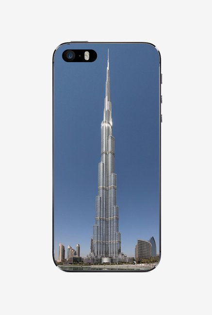 Ziddi BURZKHALIF Hard Back Cover for iPhone 5S (Multi)
