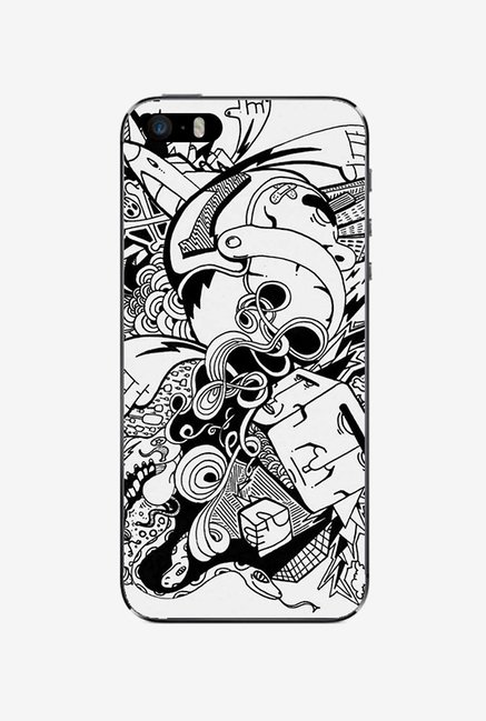 Ziddi BWDESIGN1 Hard Back Cover for iPhone 5S (Multi)