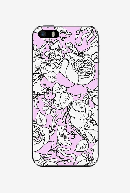 Ziddi BWPFLRL Hard Back Cover for iPhone 5S (Multi)