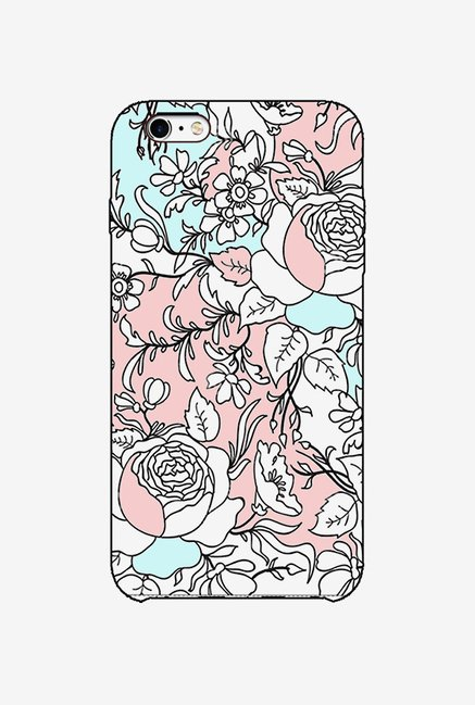Ziddi BWPFLRL Hard Back Cover for iPhone 6S (Multi)