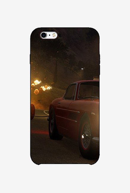 Ziddi CARFIRE Hard Back Cover for iPhone 6 (Multi)
