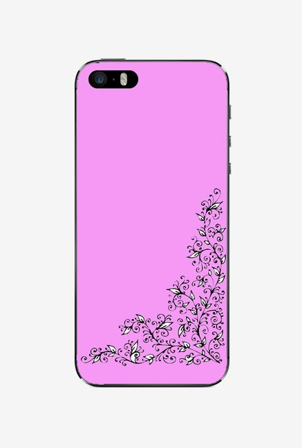 Ziddi DESGNPIN Hard Back Cover for iPhone 5S (Purple)