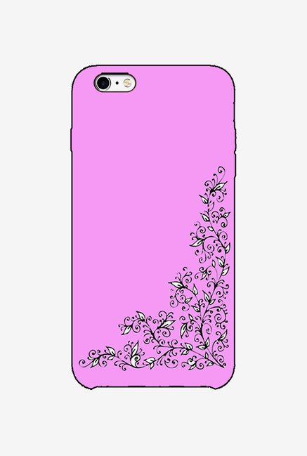 Ziddi DESGNPIN Hard Back Cover for iPhone 6 (Purple)