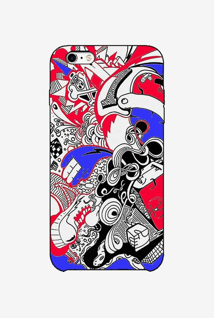 Ziddi DESIGN1 Hard Back Cover for iPhone 6S (Multi)