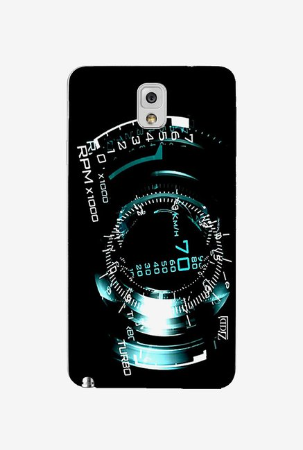 Ziddi DIALER Hard Back Cover for Galaxy Note 3 (Multi)