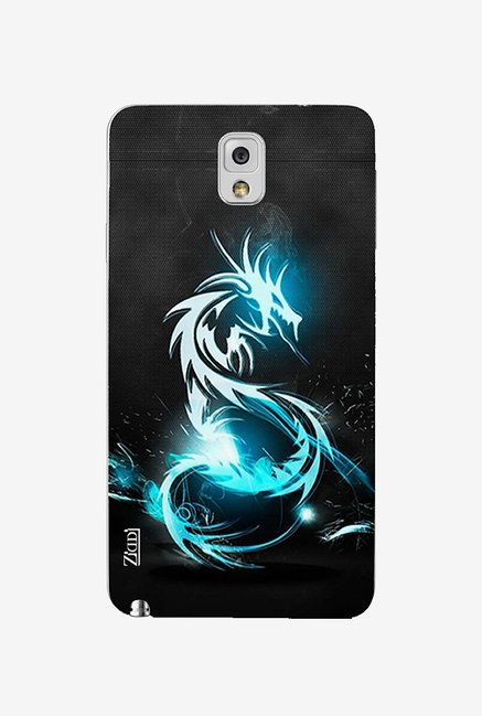 Ziddi DRAGON Hard Back Cover for Galaxy Note 3 (Multi)