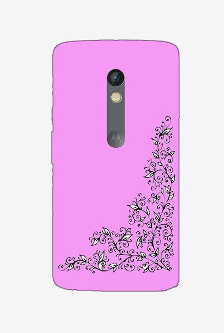 Ziddi DSGNPIN Hard Back Cover for Moto X Play (Multi)