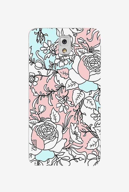 Ziddi ELEFLWR Hard Back Cover for Galaxy Note 3 (Multi)