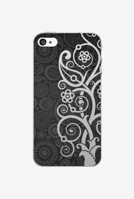 Ziddi EMBRDRY Hard Back Cover for iPhone 4 (Multi)