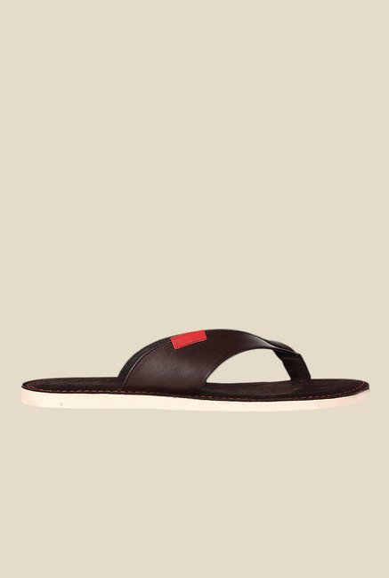 Toni Rossi Coffee Brown Thong Sandals