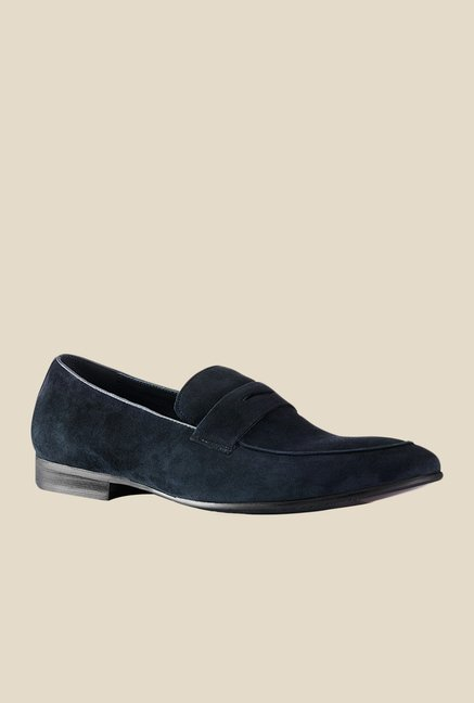 Tresmode Comfy Navy Loafers