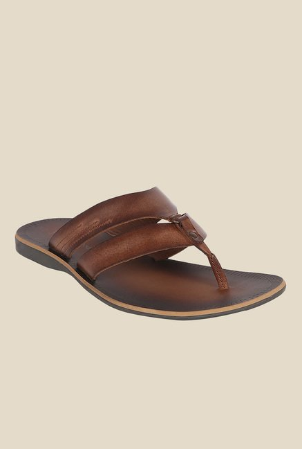 Toni Rossi Tan Thong Sandals