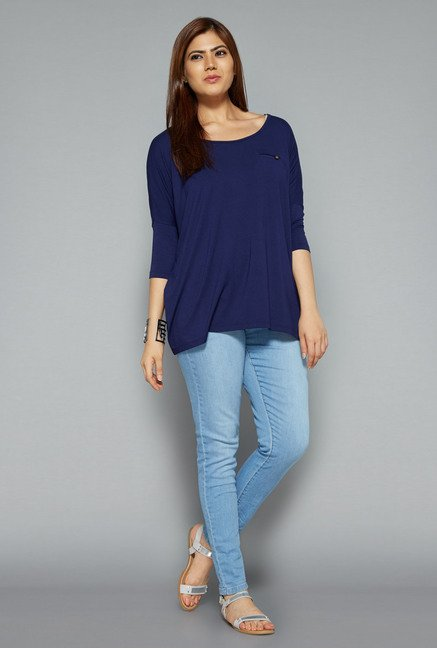 Gia by Westside Navy Lara Top