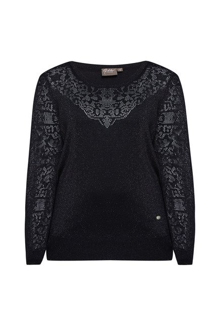 Gia by Westside Black Embellished Top
