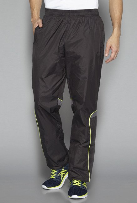 Westsport by Westside Black Solid Track Pant