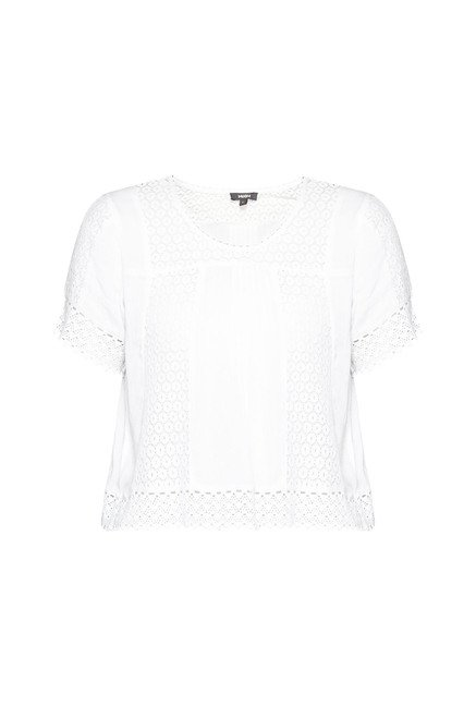Nuon by Westside White Lily Blouse