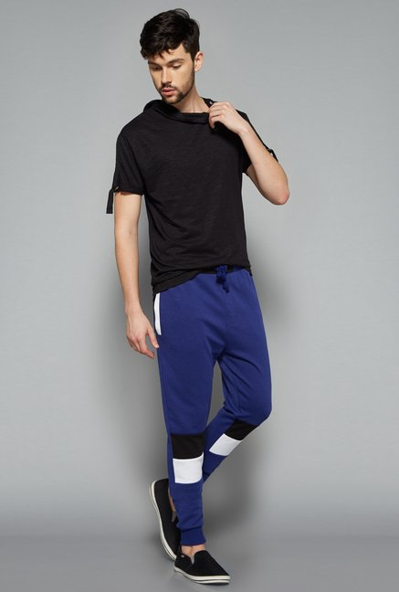 Nuon Men by Westside Blue Solid Jogger