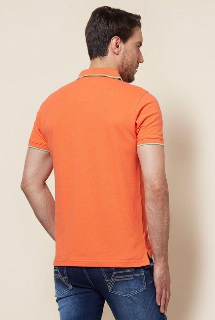 Provogue Orange Polo T Shirt