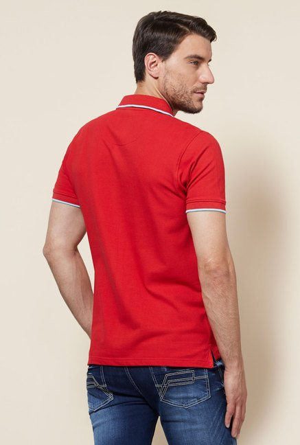 Provogue Red Polo T Shirt