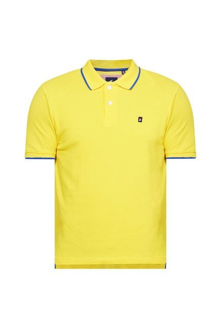 Provogue Yellow Polo T Shirt