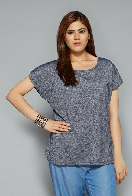 Gia by Westside Grey Gail Top