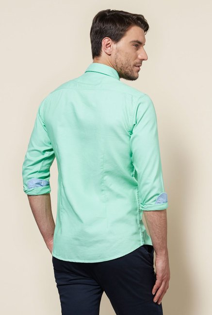 Provogue Green Slim Fit Shirt