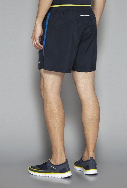 Westsport by Westside Navy Solid Shorts