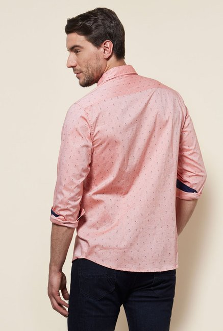 Provogue Pink Slim Fit Shirt