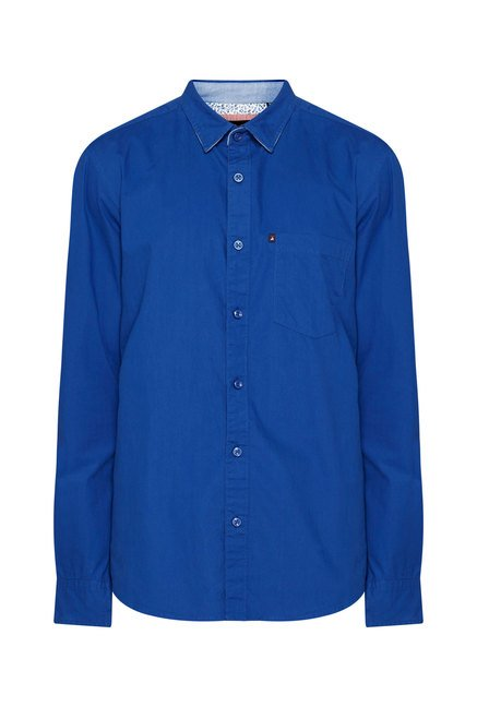 Provogue Cobalt Slim Fit Shirt