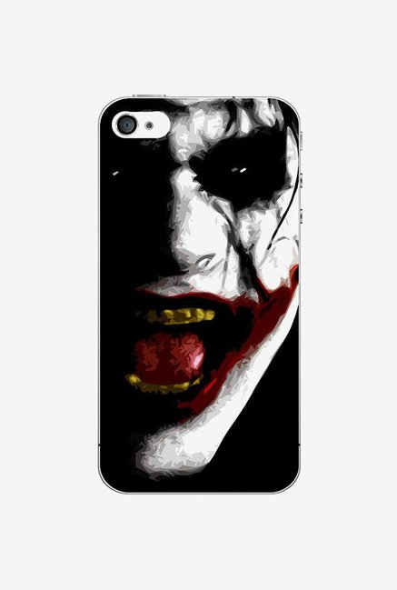 Ziddi JOKER Hard Back Cover for iPhone 4S (Multi)
