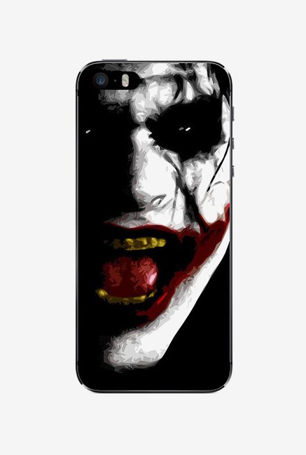 Ziddi JOKER Hard Back Cover for iPhone 5 (Multi)