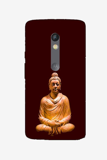 Ziddi LORDBUDDHA Hard Back Cover for Moto X Play (Multi)
