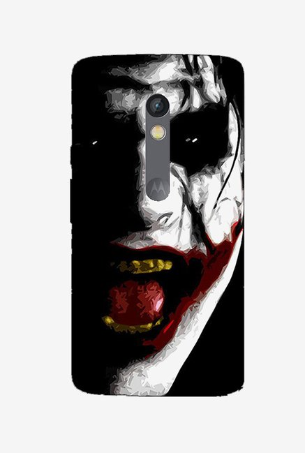 Ziddi JOKER Hard Back Cover for Moto X Play (Multi)