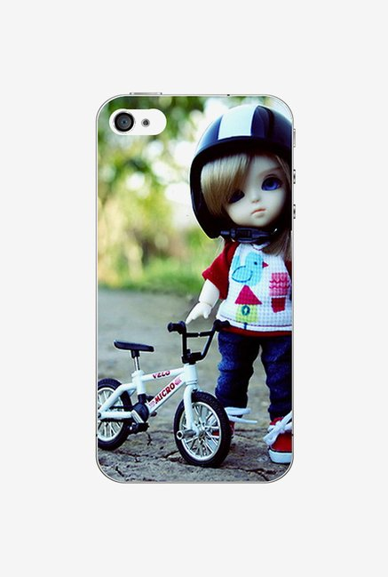 Ziddi KDCYCLE Hard Back Cover for iPhone 4 (Multi)