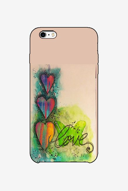 Ziddi LUVPAINT Hard Back Cover for iPhone 6 (Multi)