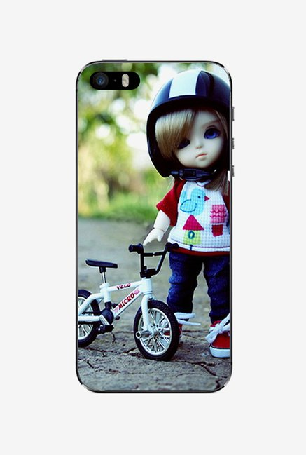 Ziddi KDCYCLE Hard Back Cover for iPhone 5S (Multi)