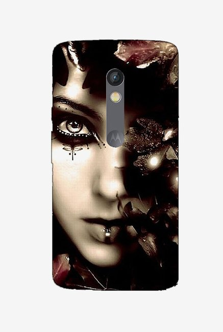 Ziddi MAMA Hard Back Cover for Moto X Play (Multi)