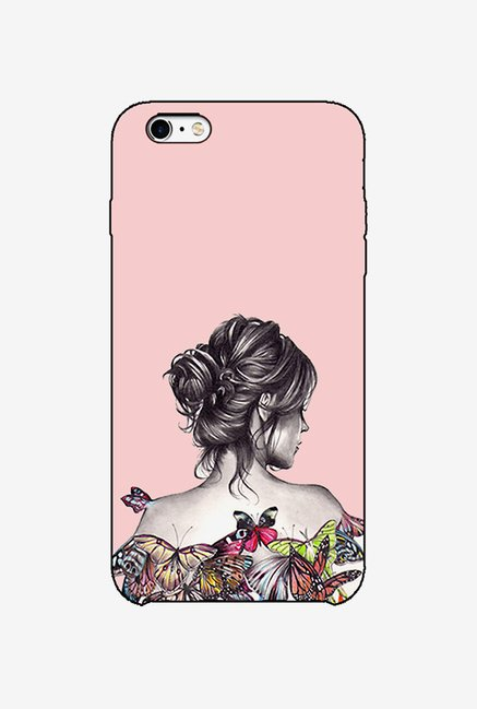 Ziddi LDYBCKBTRFLYP Hard Back Cover for iPhone 6 (Multi)