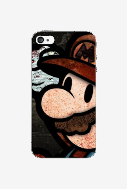 Ziddi MARIO Hard Back Cover for iPhone 4S (Multi)